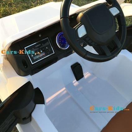 Электромобиль Мерседес Гелик М001МР NEW (колеса резина, кресло кожа, пульт, музыка)